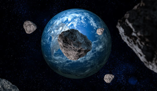 asteroids-earth